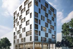 Das 34m hohe SKAIO wird Deutschlands erstes Hochhaus aus Holz