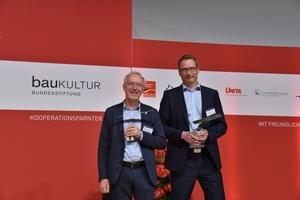 Preisträger: Johann Philipp Jung, Klassikstiftung Weimar, sowie Oliver Hahn vom Weimarer Ingenieurbüro für Bauwerkserhaltung