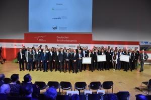 Preisträger, Nominierte und Ehrengäste beim Brückbaupreis 2018