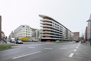 Ebenfalls ausgezeichnet: das Aktiv-Stadthaus, Frankfurt am Main. Architekten: HHS Planer + Architekten AG, Kassel. Bauherrin: ABG Frankfurt Holding