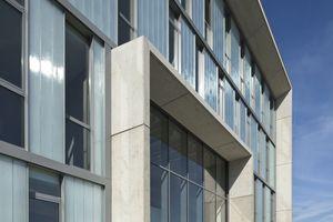 Verwaltungsgebäude mit Werkstatt und Magazinhalle, Raunheim Architekten: pauly + fichter planungsgesellschaft mbH Architekten BDA, Neu-Isenburg Bauherr: August Fichter GmbH & Co. KG Holding