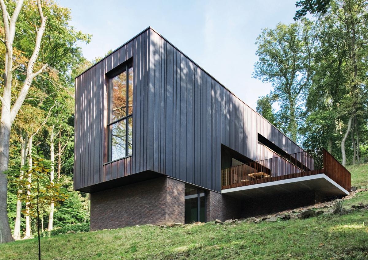 Neubau eines Wohnhauses, Tilff/BEL - Deutsche BauZeitschrift