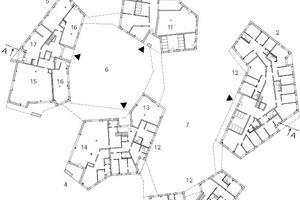 Erdgeschoss, M 1:1000