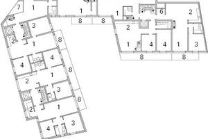 Grundriss 2. Obergeschoss, M 1:600