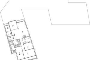 Grundriss 4. Obergeschoss, M 1:600
