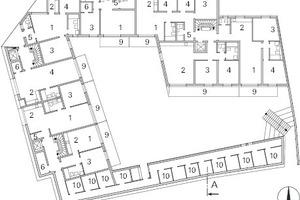 Grundriss Erdgeschoss, M 1:600
