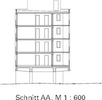 Schnitt, M 1:600