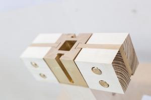 Der von Franziska Klinz und Marcel Hungermann entwickelte Knotenpunkt ist ästhetisch anspruchsvoll und ermöglicht eine schnelle Montage