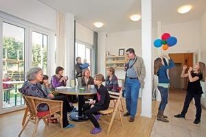 Die Raumaufteilung der Wohnungen in der Schönholzer Straße ist auf die individuellen Belange der Bewohner zugeschnitten
