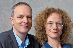 Christoph Deimel und Iris Oelschläger von Deimel Oelschläger Architekten Partnerschaft, Berlin<br />