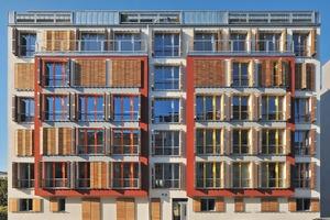 """Das Baugruppenprojekt Living in Urban Units (LUU) in der Schönholzer <irspacing style=""""letter-spacing: 0em;"""">Straße wurde als erstes Mehrfamilienhaus in Berlin</irspacing> im Passivhausstandard und in Holztafelbauweise gebaut"""