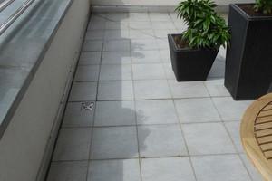 Bild 1: Überblick über die Dachterrasse
