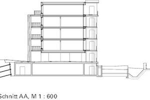 Querschnitt, M 1:600