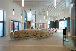 "Sieger Kategorie ""Akustiksysteme"": Willehadi-Kirche, Garbsen; Germerott Innenausbau GmbH & Co. KG, Gehrden"