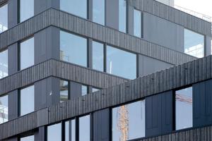 Fassadenausschnitt Nordfassade<br />