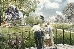 """Leschij"", Schinkelpreis in der Kategorie Landschaftsarchitektur: Marco Stadlin, Dominik Rhyner, Sarah Simon, HSR Rapperswil"
