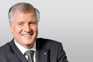 Der neue Bundesminister, Horst Seehofer, Chef im Bundesministerium des Innern, für Bau und Heimat (BMI)