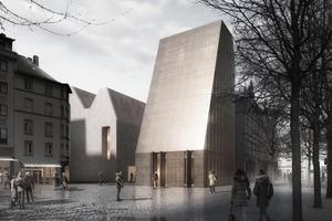 """So nicht – Mainzer Bürger entscheiden sich gegen den """"Bibelturm"""" von DFZ Architekten"""