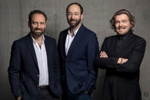 Graf Architekten: GründungspartnerThomas Willemeit, Wolfram Putz und Lars Krückeberg