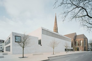 """Nur wenige Schritte vom Bochumer Hauptbahnhof liegt das Musikforum Ruhr mitten in einem städtebaulichen Erneuerungsgebiet, dessen Entwicklung zum Kreativviertel """"Viktoriaquartier"""" durch EU-Förderprogramme unterstützt wurde"""