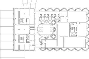 Grundriss 3. Obergeschoss, M 1:1000