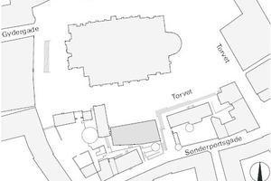 Lageplan, M 1:2000
