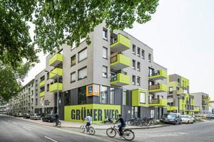 """Wohnbebauung """"Grüner Weg"""", Köln. Bauherrenpreis 2018 auch wegen eines umfassenden Quartiersmanagements (Lorber Paul, ASTOC, Molestina)"""