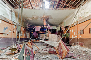 Zustand vor dem Umbau: Das ehemalige Kino hier ist jetzt Werkstattbühne<br />