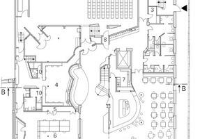 Grundriss Erdgeschoss, M 1:500