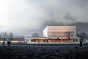 Der Entwurf ist einerseits eine prägnante Großform, andererseits frei von spektakulären Gesten. Er verbindet Architektur, Programm und Städtebau zu einem spezifischen, nur zu diesem Ort passenden Ganzen