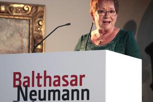 Grussworte von der Bürgermeisterin der Stadt, Frau  Marion Schäfer-Blake