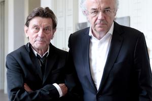 Architekt und Ingenieur des Siegerteams: Helmut Jahn und Werner Sobeck