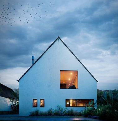 Screenshot: Ein Einfamilienhaus nach abgeschlossener Modernisierung