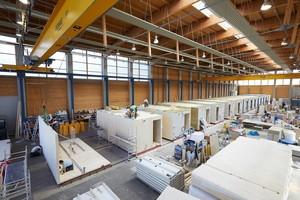 """Produktion der Module für das Studentenwohnheim """"WOODIE"""" in Hamburg"""