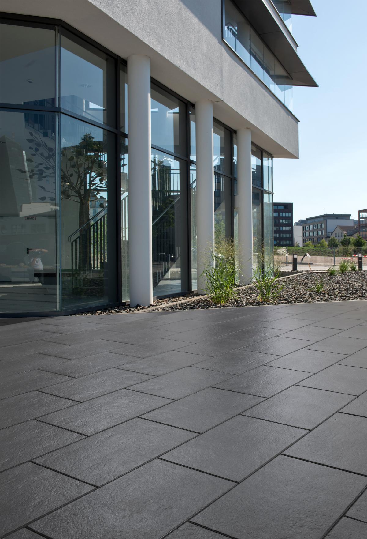 Terrassenplatten Deutsche Bauzeitschrift