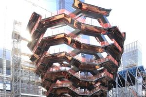 """Ulrich Finsterwalder hätte es gemocht: die """"Vessel"""", in New York City (Heatherwick Studio, London). Leider ohne deutsche Ingenieure gebaut!"""