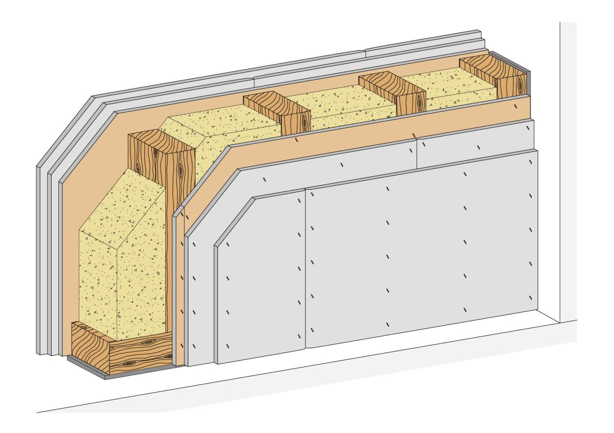 Ganz und zu Extrem Brandwand-System für den Holzbau - Deutsche BauZeitschrift #SZ_07