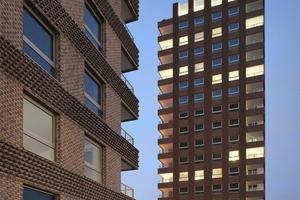 Das Projekt umfasst insgesamt sechs Türme, die in drei Gebäudepaare unterteilt sind und von verschiedenen Architekten entworfen wurden.