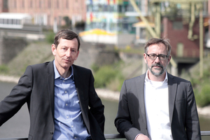 Ralf Hartmann-Linden und Stephan Adelberg