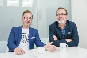 André Pilling (links)und Stefan Waerder (rechts)