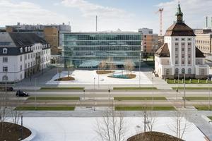 Neubau des Innovation Centers auf dem Merck-Campus in Darmstadt