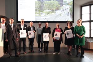 Die Ausgezeichneten des Teams Rathaus Freiburg
