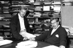 Juli 1988: Burkhard Fröhlich übernimmt die DBZ Chefredaktion von Siegfried Linke