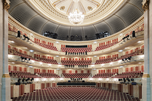 Grundlage für die Sanierung des Zuschauerraumes war das Gestaltungskonzept des Architekten Richard Paulick<br />