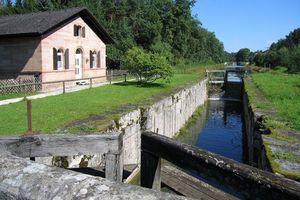 """Ludwig-Donau-Main-Kanal  """"Historisches Wahrzeichen der Ingenieurbaukunst in Deutschland"""""""