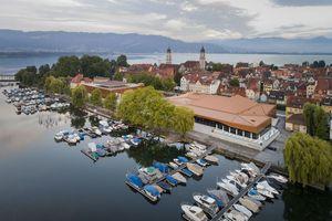 Die Inselhalle Lindau wurde von Auer + Weber saniert und erweitert