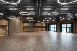 Der große Saal der Inselhalle