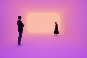 James Turrell, Ganzfeld Apani, Museum Frieder Burda, 2018