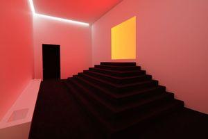 James Turrell, Ganzfeld Apani, (Entrance Space) Museum Frieder Burda, Baden-Baden, 2018