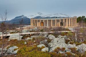 Naturum Laponia, Besucherzentrum Ort: Nationalpark Stora, Sjöfallet Architekt: Wingårdhs